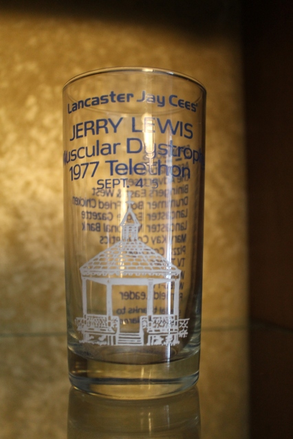 1977. My father was heavily involved with the Jerry Lewis MD Association.